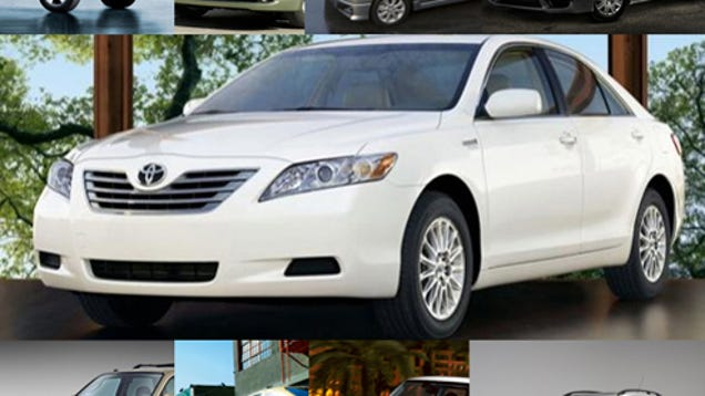 ten cars with better fuel economy than a toyota camry hybrid. Black Bedroom Furniture Sets. Home Design Ideas