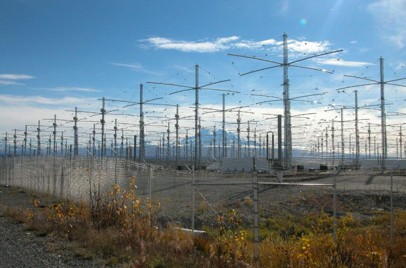 El Ionospheric Research Instrument (IRI) del HAARP.