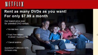 Illustration for article titled Netflix Brings Back DVD-Only Subscription for $7.99 a Month