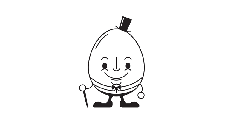 Illustration for article titled Teeny Tiny Humpty Dumpty