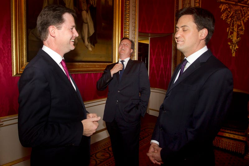 Illustration for article titled Future Gay Prime Minister A-Okay, Say British Major Party Leaders
