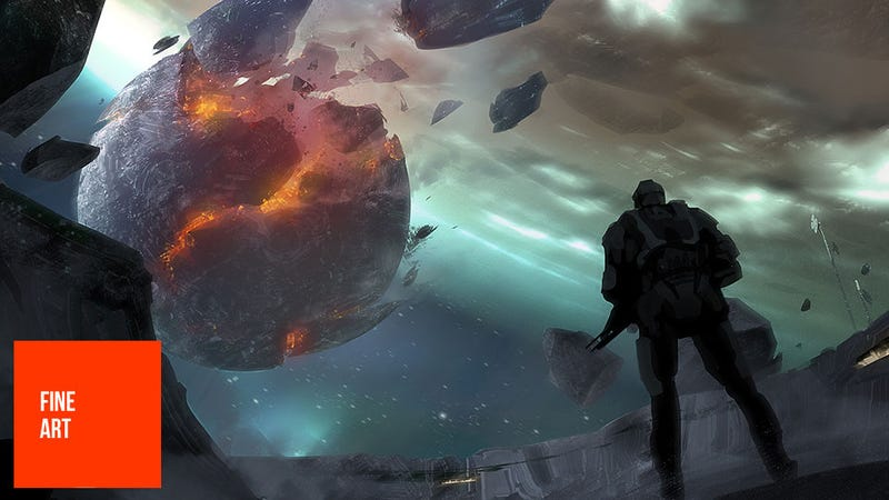 Illustration for article titled Halo 4 is a Lot of Things, But Beautiful? Sure, Why Not