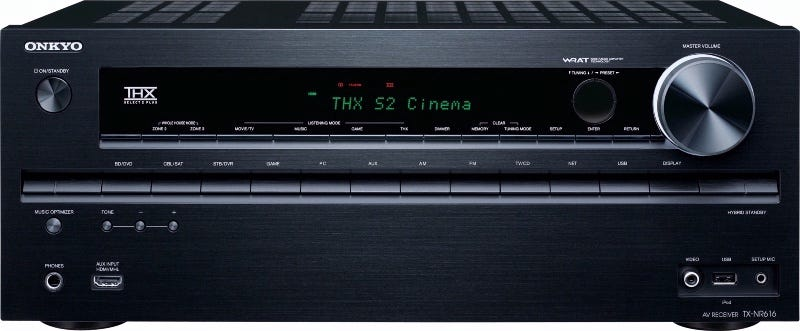 Five Best A/V Receivers