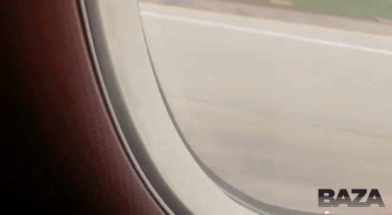 Dos pasajeros grabaron desde la cabina del avión el accidente que se cobró 41 vidas en Moscú