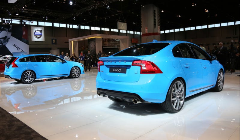 Illustration for article titled Only 120 Of The 2014 Volvo S60 And V60 Polestars Coming To The US