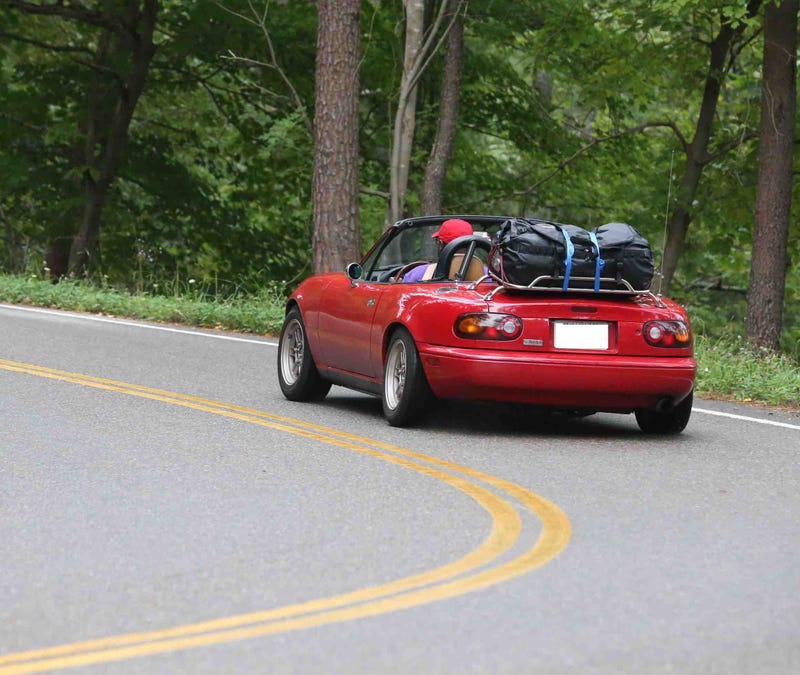 Illustration for article titled 3000 mile road trip at the end of the month in my Miata is a go!