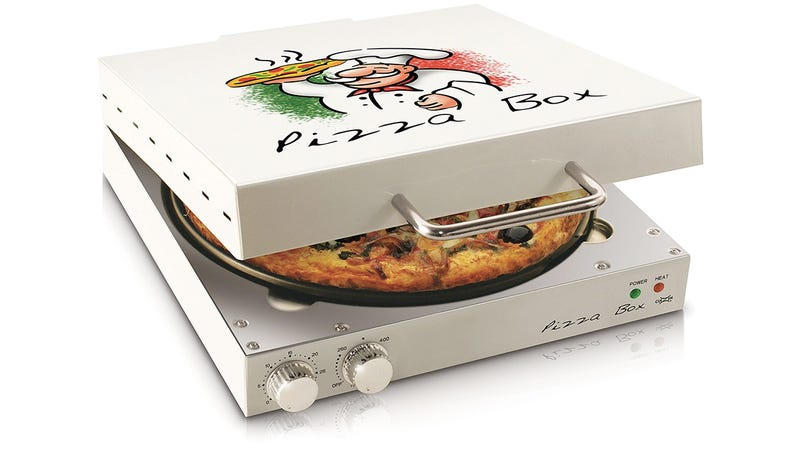 Illustration for article titled The Pizza From This Box-Shaped Oven Is Always Hot and Gooey