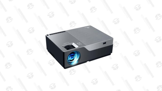 Enhance Your Next Movie Night With 60% off This 1080p Mini LED Projector