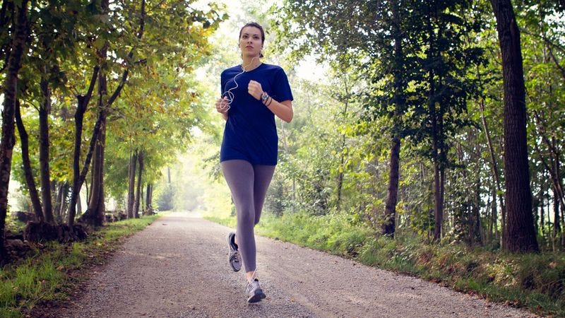 Nations Female Joggers Know They Will One Day Be -8323