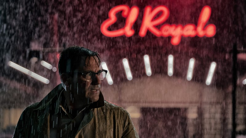 """Illustration for article titled Drew Goddard turns his dial to""""noir""""in the twisty crime thrillerBad Times At The El Royale"""