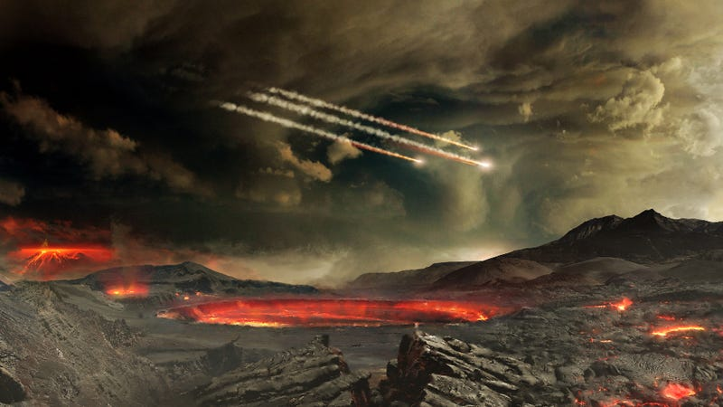 Illustration for article titled Life on Earth Emerged Millions of Years Earlier Than We Thought