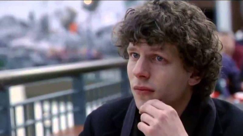 Jesse Eisenberg in The End Of The Tour