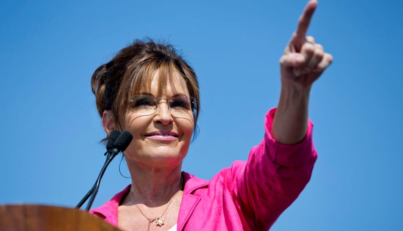 Illustration for article titled Sarah Palin Has Definitely Not Completely Lost Her Shit