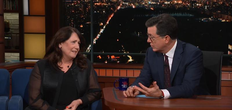 Ann Dowd, Stephen Colbert