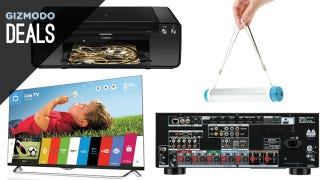 Illustration for article titled Discounted 4K Receiver and Screen, Print Professional Photos [Deals]