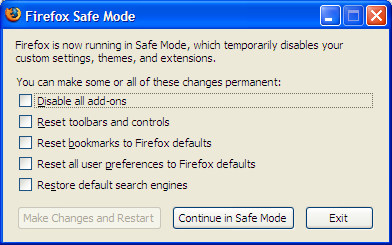 Illustration for article titled Troubleshoot Firefox in Safe Mode