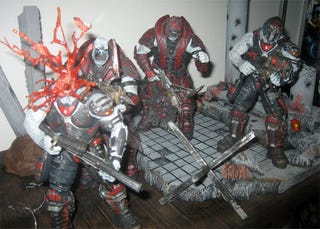 Illustration for article titled NECA Pimps Gaming Toy Line Up At Comic-Con