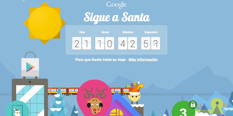 Illustration for article titled Ya puedes seguir la ruta diaria de Santa Claus desde tu smartphone