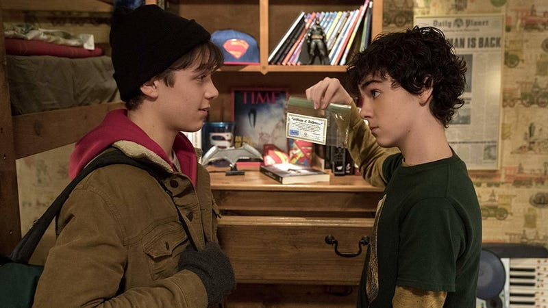 The relationship between Billy (Asher Angel) and Freddy (Jack Dylan Grazer) is the heart of Shazam.