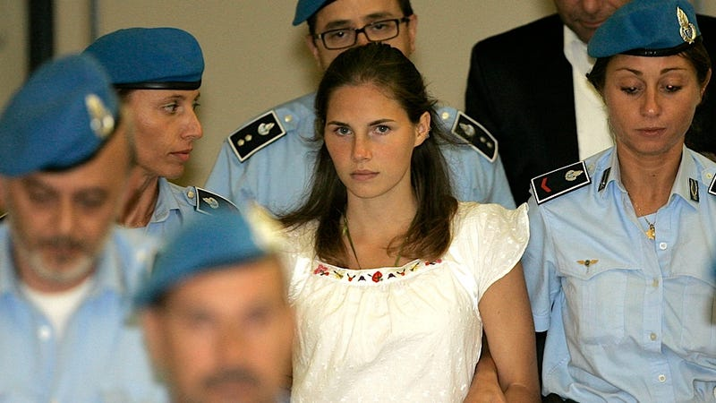 Illustration for article titled Like a Horror Movie Franchise, the Amanda Knox Legal Saga Might Get an Over-the-Top Third Installment