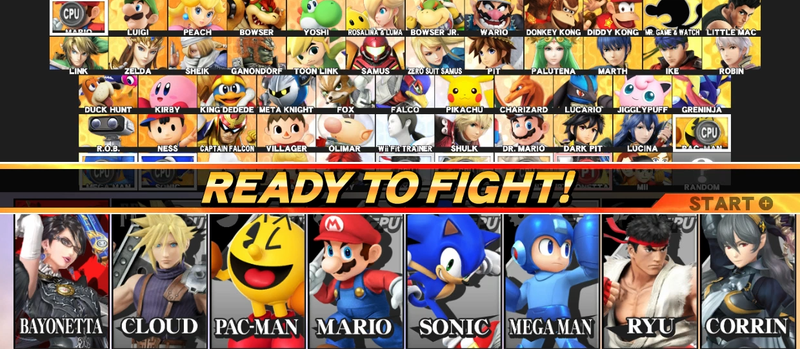 Illustration for article titled The Smash Bros. Roster Has Become Even More Ridiculous In 2016