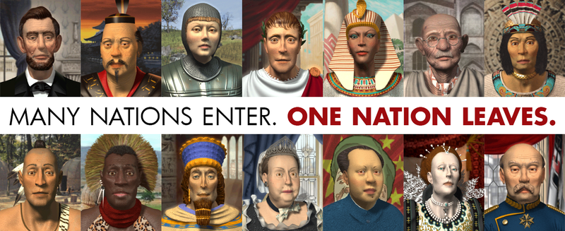 Illustration for article titled Who has come closest to winning Civilization in real life?