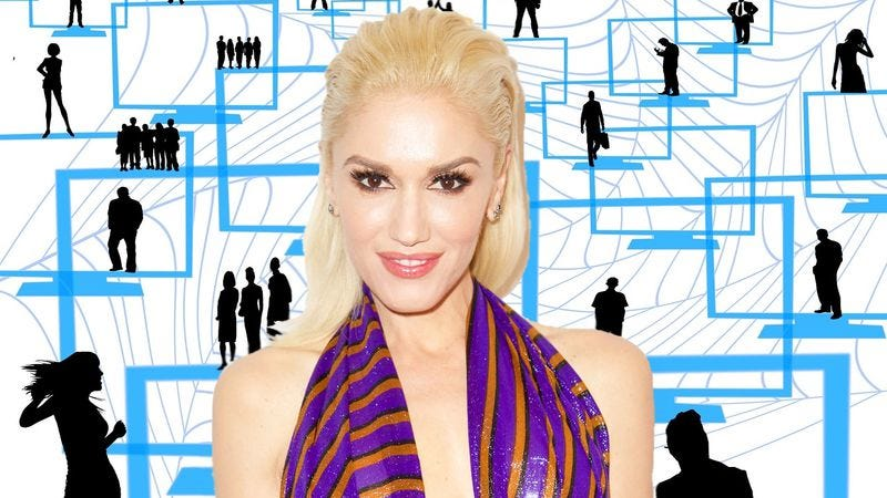 Illustration for article titled Gwen Stefani casts herself into the pit of grownup despair that is LinkedIn