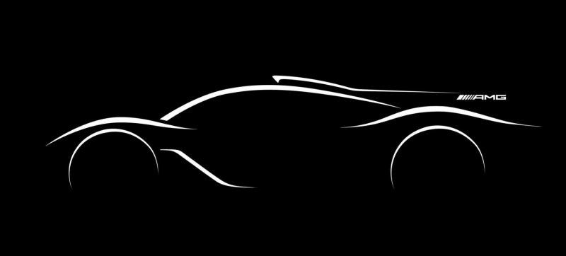 Illustration for article titled The Mercedes-AMG Hypercar Is SeriouslyGoing To Be A Batshit F1Car For The Road