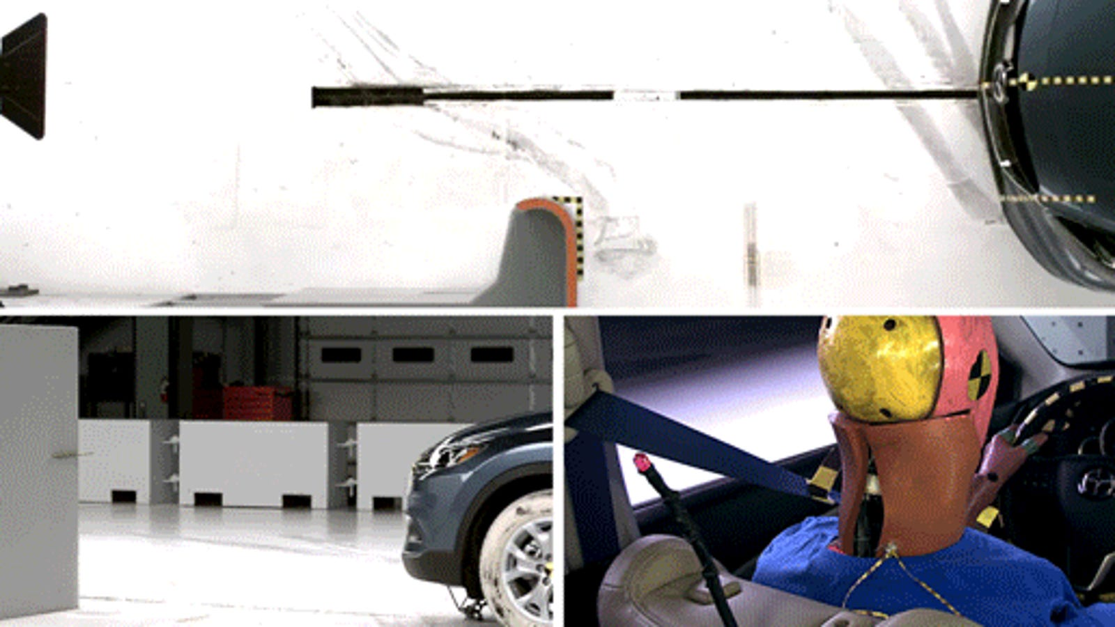 watch this absolutely brutal crash test of a mazda cx 9. Black Bedroom Furniture Sets. Home Design Ideas