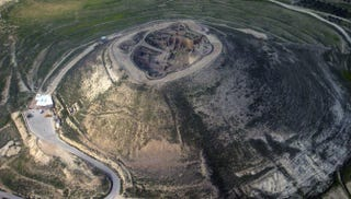Arqueólogos descubren una entrada oculta al palacio del Rey Herodes