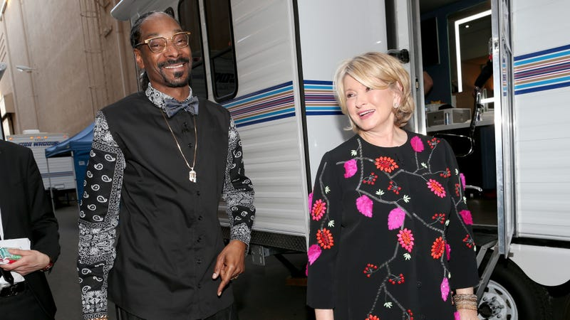 Illustration for article titled Martha Stewart and Snoop Became BFFs After He Accidentally Got Her Stoned on National Television