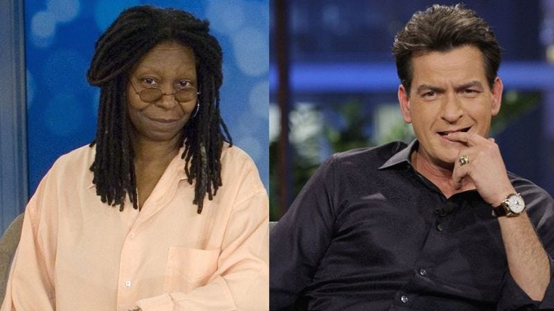 Illustration for article titled Charlie Sheen and Whoopi Goldberg are starring in a 9/11 drama