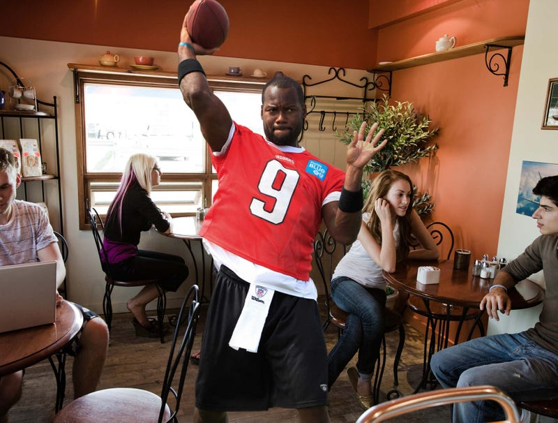 Illustration for article titled Unemployed David Garrard Spends Afternoon In Local Coffee Shop Working On Passing Play