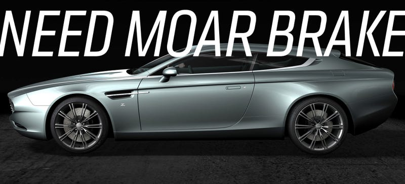 Illustration for article titled The Aston Martin Virage Shooting Brake Zagato Is Barely A Shooting Brake