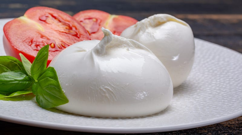 Illustration for article titled Curd mentality: The gooey, oozy, creamy appeal of burrata cheese
