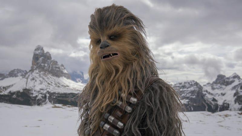 Suotamo as Chewbacca in Solo: A Star Wars Story