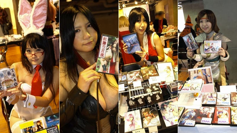 Illustration for article titled Cosplayers Selling Pics and Posing for Them