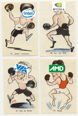 Illustration for article titled Intel Graphics Business Still Champ, But Nvidia Is Showing Rocky's Pluck