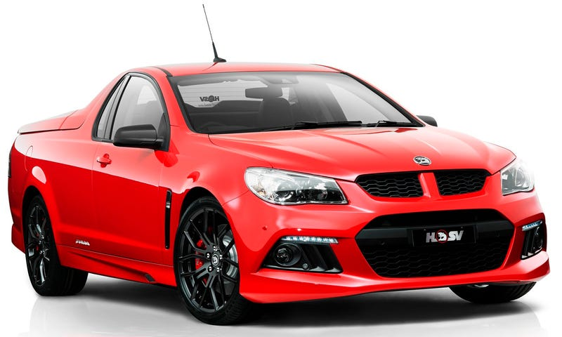 Illustration for article titled Aussie Tire Murderers Holden Special Vehicles Could Come To America