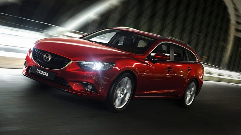Illustration for article titled The 2014 Mazda6 Diesel Wagon Is Steamy Missionary Position Sex And Should Be Sold In The U.S.