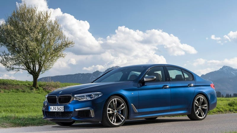 Illustration for article titled The 2020 BMW M550i to Get 8 Series V8, Will Destroy the Last-Gen M5: Report