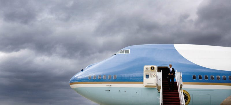 Illustration for article titled The Phones on Air Force One Look Like Iron Man Accessories
