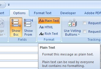 Illustration for article titled Convert Outlook Emails to Plain Text, One-by-One or Permanently