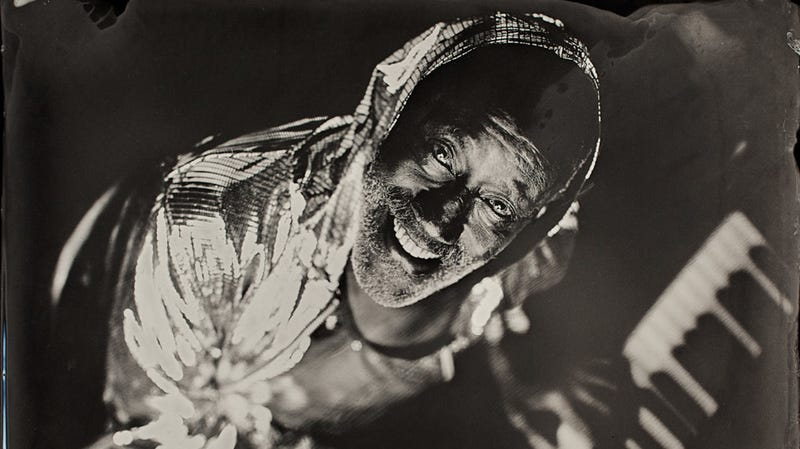 Sammie Moore, a.k.a. Ironing Board Sam