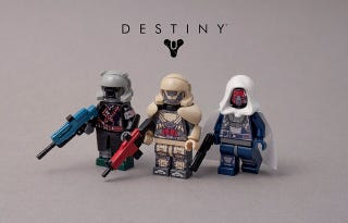 Illustration for article titled Destiny Lego Minifigs