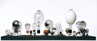 Illustration for article titled Astounding Photos: Journey Through the History of the Lightbulb