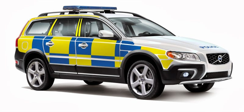felt cars volvo wants to make all the police cars