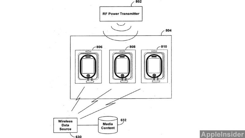Illustration for article titled New Apple Patent Hints at Wireless Charging for the iPhone and iPad