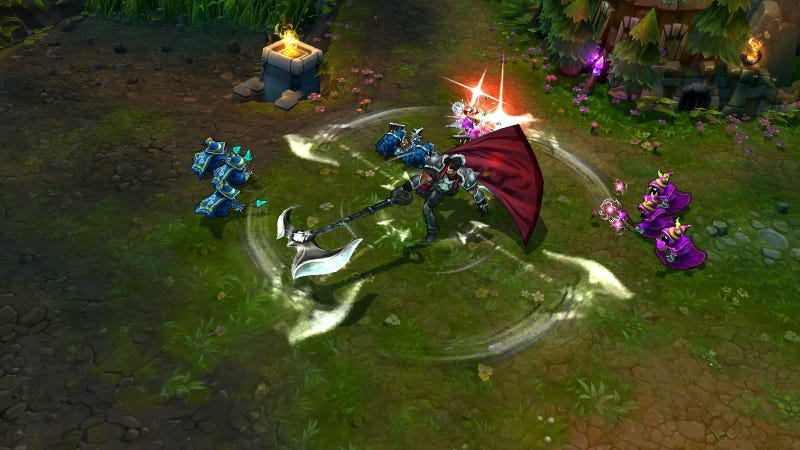 Illustration for article titled League Of Legends Is Trying To Spice Up Four Dull Champions