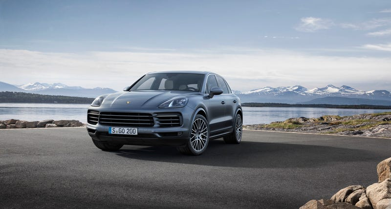 Illustration for article titled The 2019 Porsche Cayenne Is Here To Go Fast And Print Money